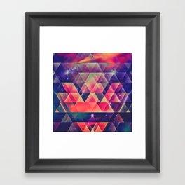 glyssyne pyrymyd Framed Art Print