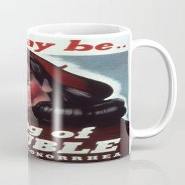 Vintage poster - STDs Coffee Mug