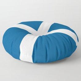 Mike Modern nautical maritime Floor Pillow