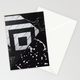 Seasons Of Black And White Stationery Cards