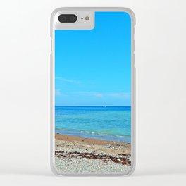 Perce Beach Clear iPhone Case
