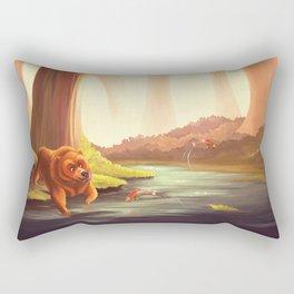 Hungry Bear Rectangular Pillow