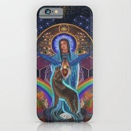 Mary of the Sacred Feminine iPhone Case