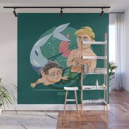 Husband Material: Mermen Wall Mural