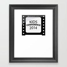 Kids Conference Framed Art Print