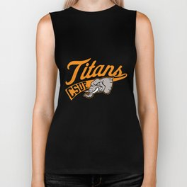 Cal State Fullerton Csuf Titans Son T-Shirts Biker Tank