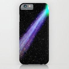 Space Galaxy : Purple Green Comet Slim Case iPhone 6s