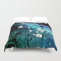 coconut wishes Duvet Covers featuring Wishes by Nev3r