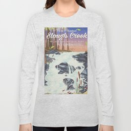 Slough Creek Yellowstone national park Long Sleeve T-shirt
