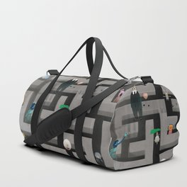Time in the labyrinth and the Hare Duffle Bag