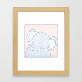 Elephant Jungle Series Print Framed Art Print