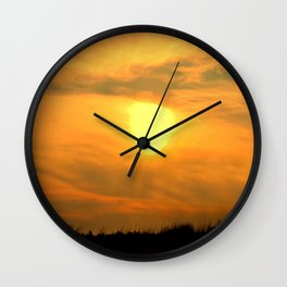 Gooseberry Island Sunset Wall Clock