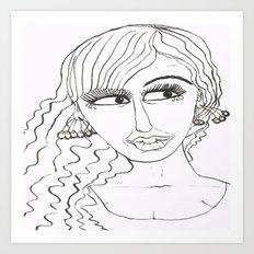 Maryja Art Print