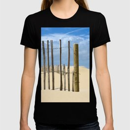 Fence in the sand T-shirt