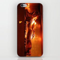 golden buddha, reclining iPhone & iPod Skin