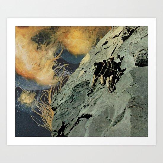 heights (with david delruelle) Art Print
