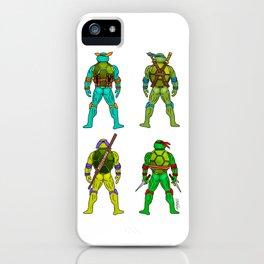 Superhero Butts - Turtles iPhone Case