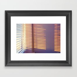5 in the morning Framed Art Print