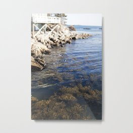 Cold Maine Waters Metal Print