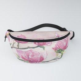 Magnolias Blossom Fanny Pack