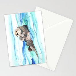 Otterly Loved Stationery Cards