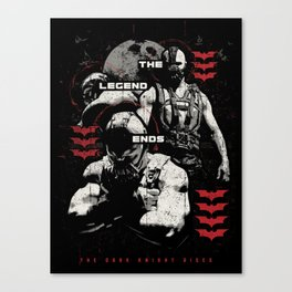 In Ashes Canvas Print