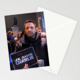 Parisian Mugshots - Je suis Charlie (Gueules de Parisiens) Stationery Cards