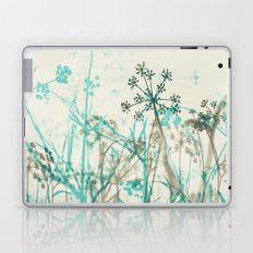 Teal and Gray Laptop & iPad Skin