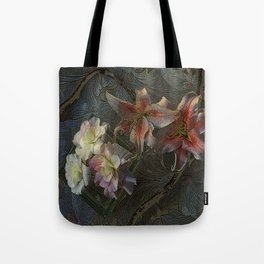 The Begonia Brocade Tote Bag