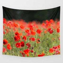 Poppy Meadow Wall Tapestry