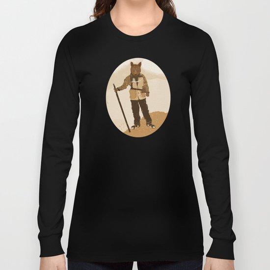 the explorer Long Sleeve T-shirt