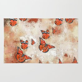 adorable Butterflies, terra Rug