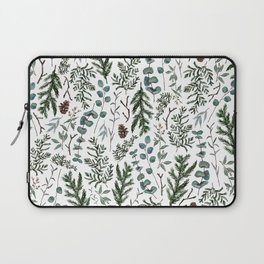 Pine and Eucalyptus Greenery Laptop Sleeve