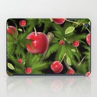 cherry iPad Cases featuring cherry by mark ashkenazi