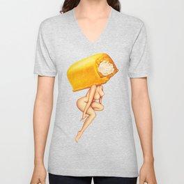 Twinkie Girl Unisex V-Neck