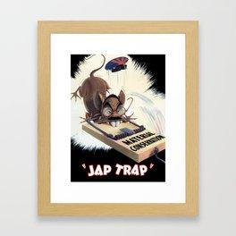 Material Conservation  - WW2 Propaganda Framed Art Print