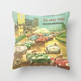 Nürburgring 1000km race Throw Pillow