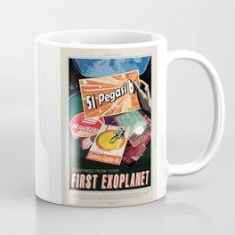 51 Pegasi b - NASA Space Travel Poster Coffee Mug