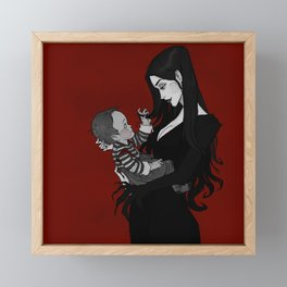 A Mother Most Macabre Framed Mini Art Print