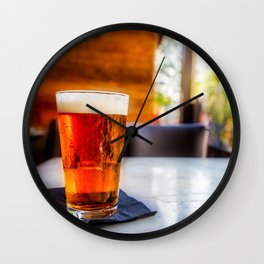 Lager Wall Clock