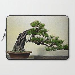 Root Over Rock Pine Bonsai Laptop Sleeve