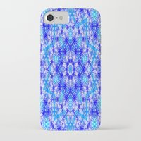 snowflake iPhone & iPod Cases featuring Snowflake by Kimberly McGuiness