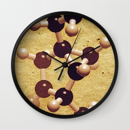 The Brown Element Wall Clock