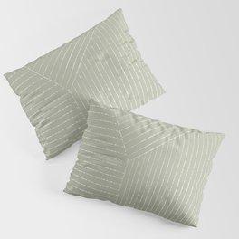 Lines (Linen Sage) Pillow Sham