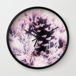 White Pine, Christmas Snowfall Wall Clock