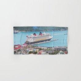 View of our ship Tortola Hand & Bath Towel
