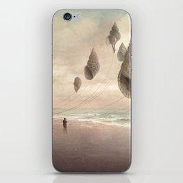 Floating Giants iPhone Skin