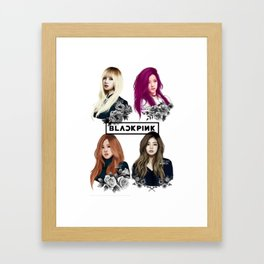 BlackPink Framed Art Print