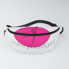 Volleyballgirl Volleyball sports gift idea Fanny Pack