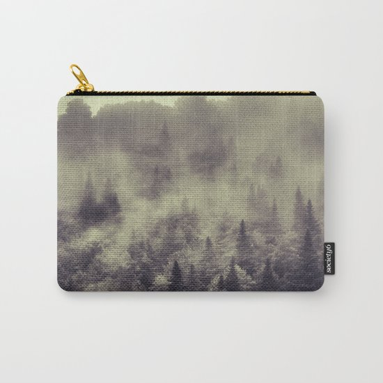 """Into the woods"" Love the forests Carry-All Pouch"